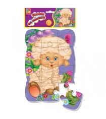 Пазлы для малышей Vladi Toys магнитные овечка артикул VT3205-32