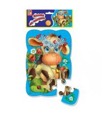 Пазлы для малышей Vladi Toys магнитные коровка артикул VT3205-33