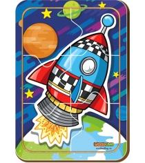 Пазл Woodland Ракета 1 12206