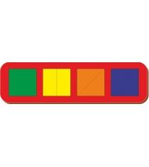 Рамка-вкладыш Woodland Сложи квадратб1 64501
