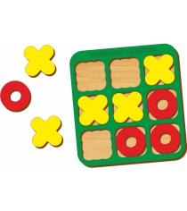 Логическая игра Woodland Крестики-нолики 1 66101