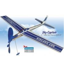 Планер Zt model Воздушный капитан резиномоторная модель XA04401