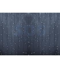 Новогодняя гирлянда дождь Led Neon Night, 2х1,5м, провод silicon, цвет белый 235...