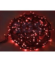 Новогодняя гирлянда Neon-night Твинкл Лайт влагостойкая красная 20м 240 диодов 3...