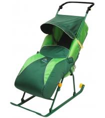 Детские санки коляска Papajoy Тимка Комфорт+