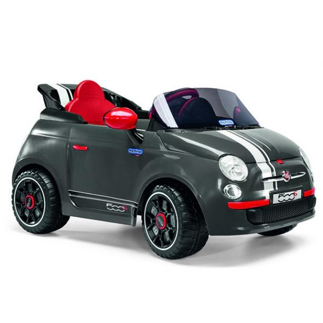 Электромобиль Peg Perego Fiat 500 S Grey ED1171