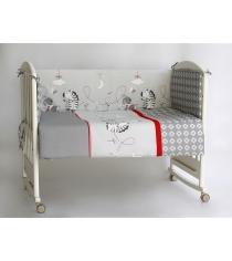 Бортик в кроватку Pituso Зебры