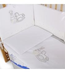 Комплект в кроватку 6 предметов Pituso Лошадка 120x60