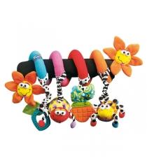 """Комплект: подвески на коляску Playgro """"Лиловый Кролик""""+""""Веселый Сад"""""""