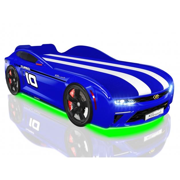 Кровать машина Energy Blue подъемный механизм и ящик