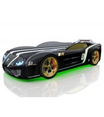 3D SportLine черный с подсветкой фар и дна и колесами