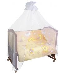 Комплект в кроватку 3 предмета Сонный гномик Сыроежкины сны 341