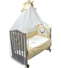 Комплект в кроватку 3 предмета Сонный гномик Умка 376 бежевый