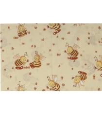 Наволочка Сонный гномик Пчелки Н332 бежевый