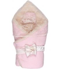 Конверт одеяло на выписку Сонный Гномик Жемчужинка 1709М розовый