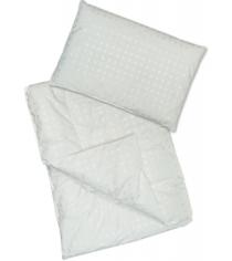 Одеяло с подушкой в кроватку Сонный гномик Эвкалипт