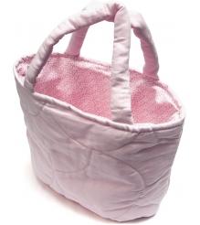 Сумочка стеганая Сонный Гномик C15 розовый