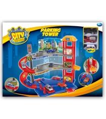 Парковочная башня Dave Toy с 3 машинками 32029