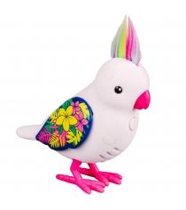 ПтичкаLittle Live Pets Белая с блестящими крыльями 28235