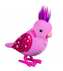 ПтичкаLittle Live Pets Розовая с драгоценными камушками на крыльях 28236