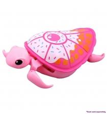 Черепашка Little Live Pets Третья серия Розовая с белым панцирем 28255