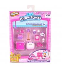 Игровой набоор для декора Happy Places Петкинс Пижамная вечеринка с мишками 56392