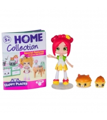 Happy Places Петкинс с куклой Shoppie Кристина Эпл 56410