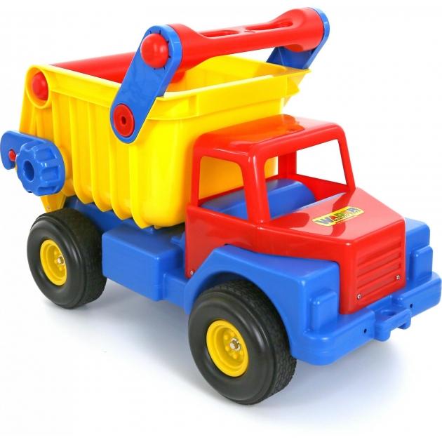 Самосвал 1 Wader с резиновыми колесами 37916_PLS