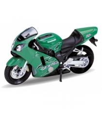 Модель мотоцикла Welly Kawasaki 2001 Ninja ZX-12R 1:18 12167P