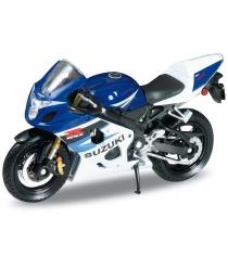 Модель мотоцикла Welly Suzuki GSX-R750 1:18 12803P