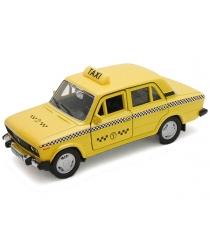 Модель машины Welly LADA 2106 Такси 1:34-39 42381TI