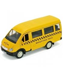 Модель машины Welly ГАЗель Такси 42387ATI