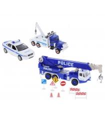 Набор машин Welly Полиция 10 шт. 99610-10A