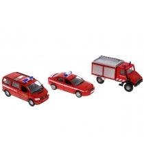 Набор машин Welly Пожарная служба 3 шт. 99610-3C