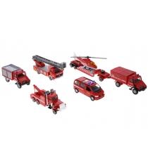 Набор машин Welly Пожарная служба 6 шт. 99610-6B