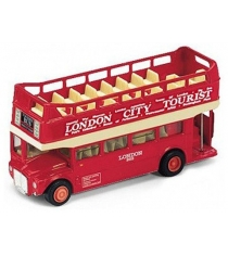 Модель автобуса Welly London Bus открытый 99930C