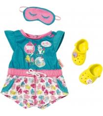 Пижамка Zapf Baby born с обувью 822-470
