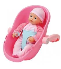 Кукла Zapf my little Baby born 32 см и кресло-переноска 822-494