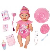 Кукла Zapf Baby born интерактивная 43 см 823-163