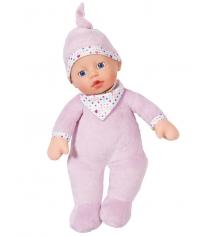 Кукла Zapf Baby born мягкая с твердой головой 30 см 823-439