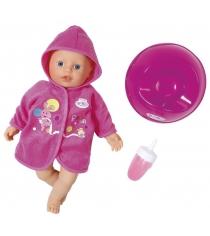 Кукла Zapf my little Baby born быстросохнущая с горшком и бутылочкой 32 см 823-460