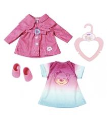 Бэби Борн комплект одежды для прогулки 32 см Zapf 823-477
