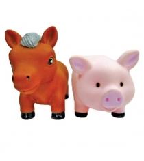Набор игрушек для ванны Жирафики Лошадка и свинка 681267