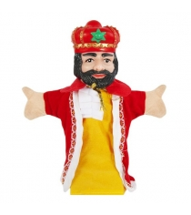 Кукла перчатка Жирафики Король 68329