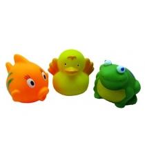 Набор игрушек для ванны Жирафики В пруду 68861
