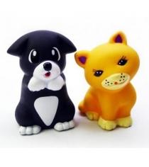 Набор игрушек для ванны Жирафики Котенок и щенок 68865