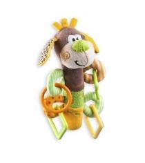 Развивающая игрушка пищалка Жирафики Щенок с прорезывателем 93558