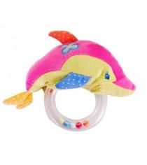 Развивающая игрушка погремушка Жирафики Дельфин 93584