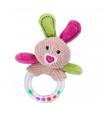 Развивающая игрушка погремушка Жирафики Кролик 93673