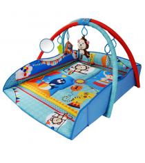 Развивающий коврик Жирафики с бортами цирк 939308